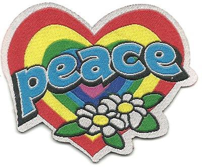 Etiqueta Peace