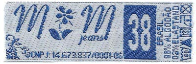 Etiqueta MM Jeans